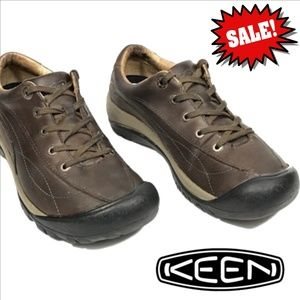 KEEN Toyah NuBuck Leather Hiking Shoe Sz 7